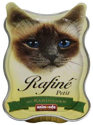 Консервы для кошек Animonda Rafine Petit, паштет из кролика, 18шт по 85г