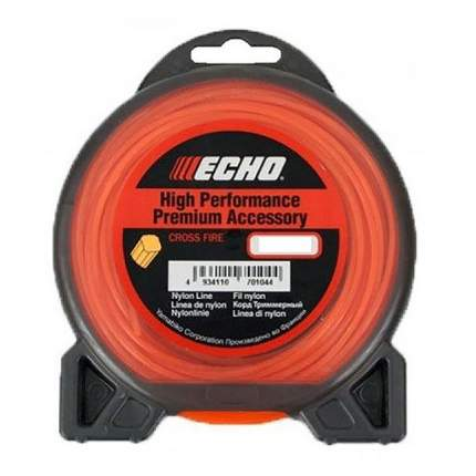 Леска для триммера Echo Cross Fire Line 3.0мм/15м (крест) (C2070106)