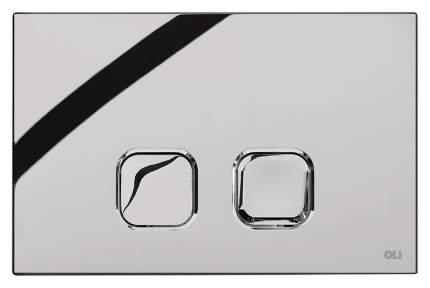 Кнопка смыва OLI Plain хром глянцевый (70827)