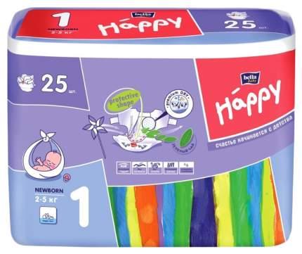Подгузники для новорожденных Bella Happy Newborn 1 (2-5 кг), 25 шт.