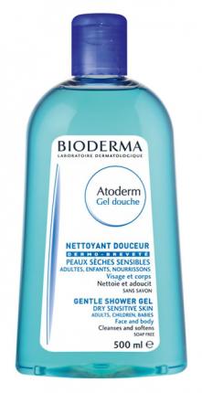 Гель для душа Bioderma Atoderm 500 мл