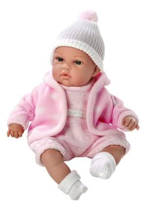 Кукла Arias Elegance в флисовой курточке розовая, 33 см