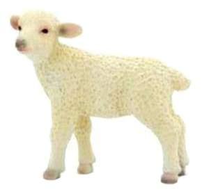 Мягкая игрушка mojo Овечка 6х2х4,5 см