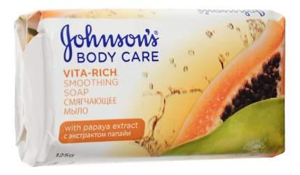 Косметическое мыло Johnson`s с экстрактом папайи 125 г