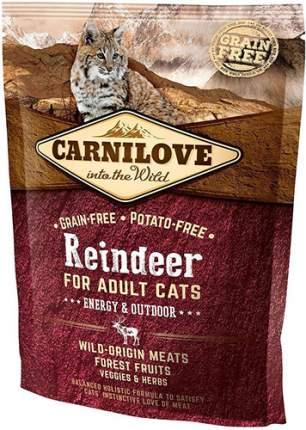 Сухой корм для кошек Carnilove Energy & Outdoor, для активных уличных, оленина, 0,4кг