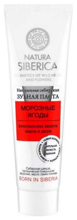 Зубная паста Natura Siberica Морозные Ягоды 100 г