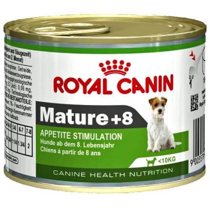 Консервы для собак ROYAL CANIN Adult Mature 8+, для пожилых, курица, 195г