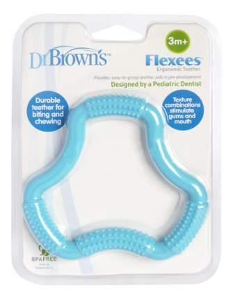 Прорезыватель классический Dr. Brown's Флексес эргономичный, голубой
