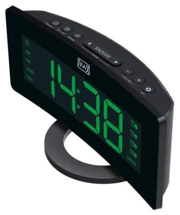Радио-часы Max CR-2914 Черный Зеленый