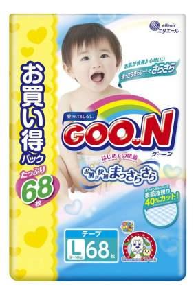 Подгузники Goon Ultra Jumbo Pack L (9-14 кг), 68 шт.