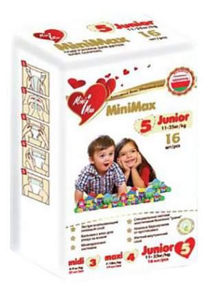 Подгузники MiniMax Junior (11-25 кг), 16 шт.