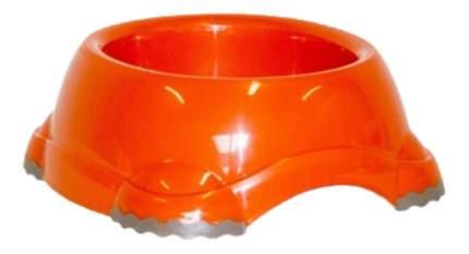Одинарная миска для кошек и собак MODERNA, пластик, оранжевый, 1.245 л