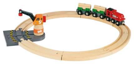 Железнодорожный набор Brio Товарный поезд 33162