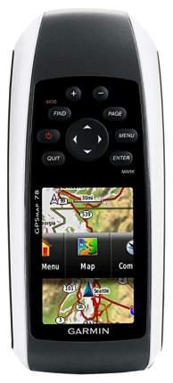 Туристический навигатор Garmin GPSMap 78 Rus черный