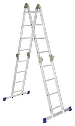 Лестница-трансформер Алюмет 4 секции по 4 ступени, 0