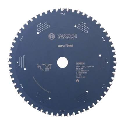 Диск по дереву Bosch EXP SL 254x25,4-60T 2608643059