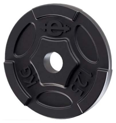 Диск для штанги чугунный Euroclassic 1,25 кг, 26 мм