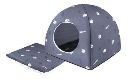 Домик для кошек Дарэлл 48х48х47 см серый