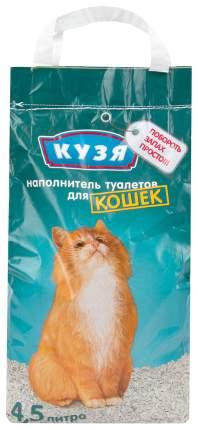 Наполнитель Кузя впитывающий 4,5 л 2,2 кг без запаха