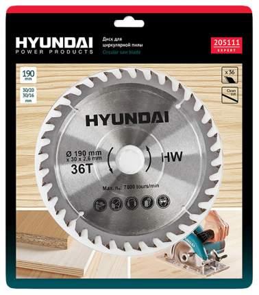 Диск пильный Hyundai D190mm 36T D30mm/20mm/16mm (25/50) 205111