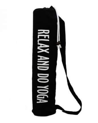 Чехол для йога-коврика EGOyoga Do Yoga 699048 70 см черный