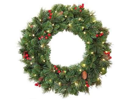 Новогодний венок National Tree Company Эвридей 31TPCW24B 51 см