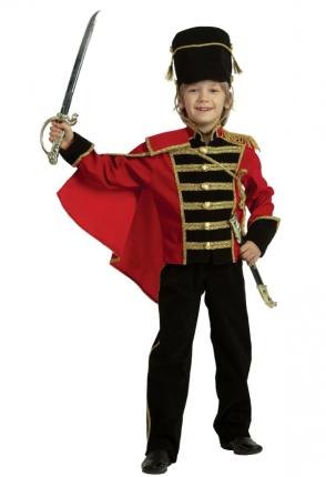 Карнавальный костюм Гусар, 8-9 лет, рост 128 см, р.34
