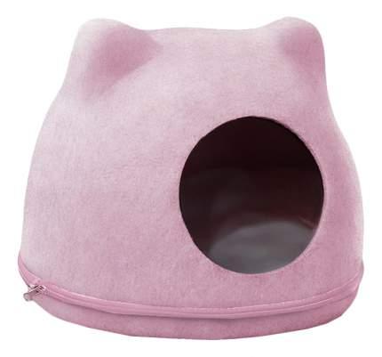 Домик для кошек Triol розовый 43x34x34см
