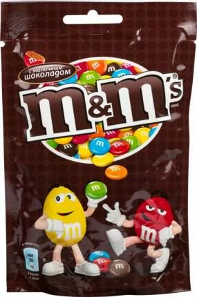 Драже M&M's  с молочным шоколадом 240 г