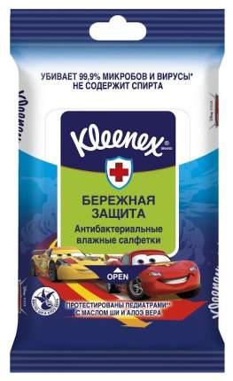 Влажные салфетки Kleenex Дисней Антибактериальные 10 шт