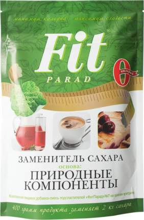 Заменитель сахара Fit Parad природные компоненты 400 г
