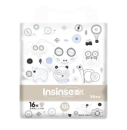 Подгузники INSINSE V6 трусики (15+ кг) 16 шт. супертонкие XXL (12)