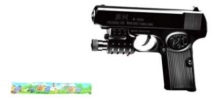 Игрушечный пистолет с лазером, фонарем и пульками Shantou Gepai 1B00787