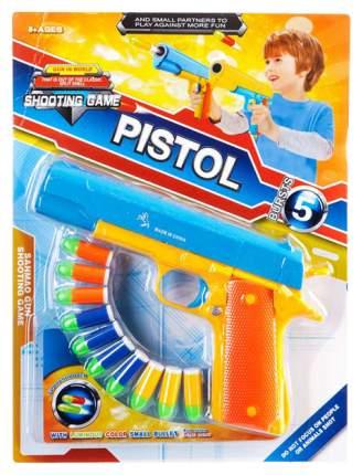 Огнестрельное игрушечное оружие Gratwest пистолет с пулями К76277