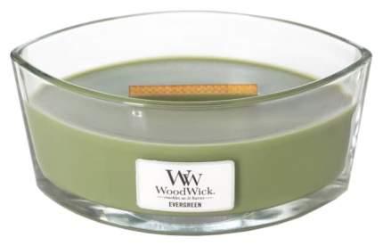 Ароматическая свеча WoodWick Evergreen 76142 Зеленый