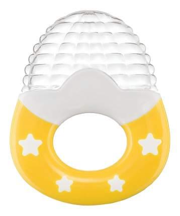 Прорезыватель Happy Baby силиконовый yellow