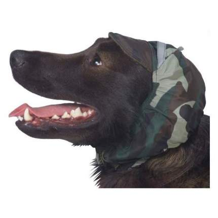 Шапка для собак ТУЗИК №4 пудель средний, русский спаниель, теплая, плащевка,флис