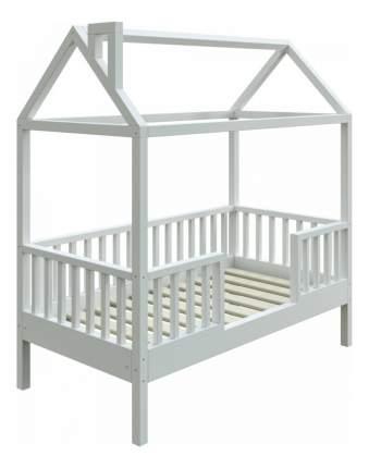 Кровать-домик Трурум KidS Сказка узкий бортик белая