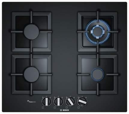 Встраиваемая варочная панель газовая Bosch PPH6A6B20R Black