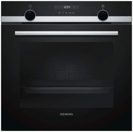Встраиваемый электрический духовой шкаф Siemens HB537GES0R Silver/Black