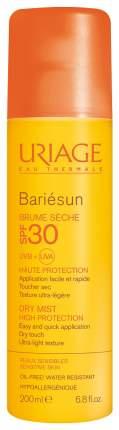 Солнцезащитное средство Uriage Bariésun сухая дымка-спрей SPF30+ 200 мл