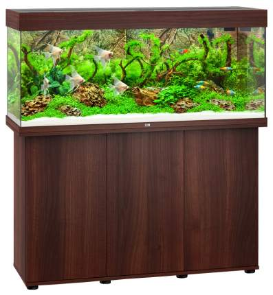 Аквариум для рыб Juwel Rio 240 LED, темное дерево, 240 л