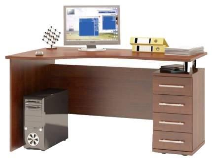 Стол компьютерный СОКОЛ КСТ-104,1П Исп орех 2Box