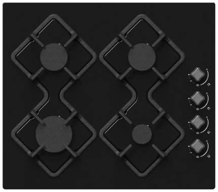 Встраиваемая варочная панель газовая RICCI RGN-KA4007BL Black