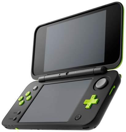 Портативная игровая консоль Nintendo 2DS XL Black +Игра Mario Kart 7