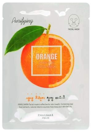 Маска для лица Welcos с экстрактом апельсина освежающая, 20 мл