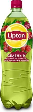 Чай зеленый Lipton клюква-земляника 1 л