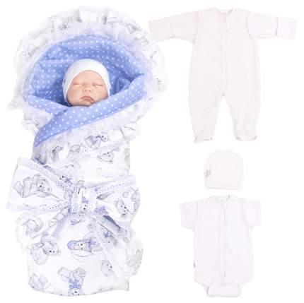 Комплект на выписку для новорожденных Крошкин дом Мишки Тэдди 171(МТ)-1 ПИ