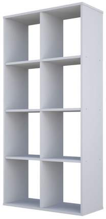 Стеллаж Polini Home Smart Кубический 8 секций, Белый