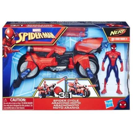 Набор человек паук и транспортное средство Hasbro E0593EU4